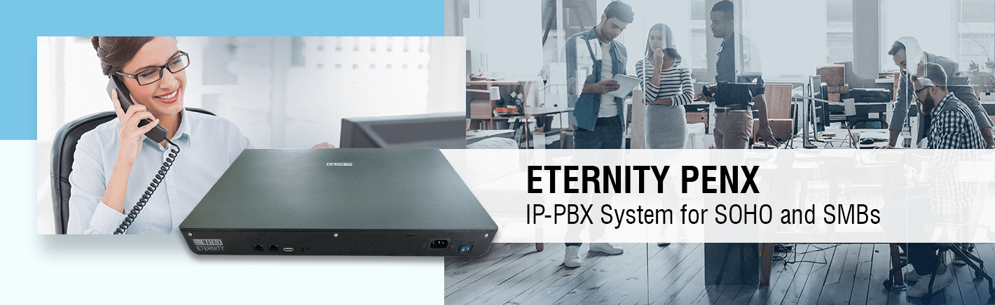 Matrix ETERNITY PENX - The IP-PBX Solution For SMBs And SOHO